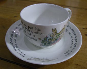 Wedgwood Peter Rabbit Cup and Saucer