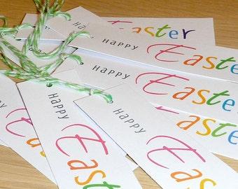 Easter Gift Tags - Set 10 - school friends - family - teachers presents - handmade