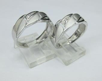 Anillos de Matrimonio en Plata Fina