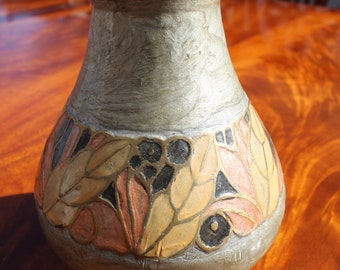 Hand painted brass vase-Made in India