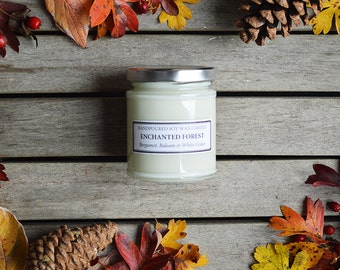 Soy Candle Jar - 150g - Enchanted Forest
