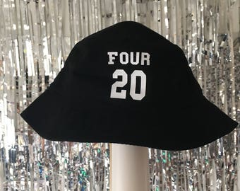 Four 20 Weed LoverJersey Bucket Hat by Fashionisgreat