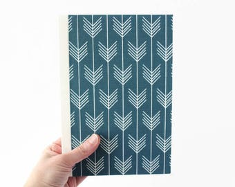 "NADIA • Handmade Journal, Large, 5.75""x8.5"", Lined or Unlined • Lay flat pages • Notebook • Blank book • Writing journal • Back to School"