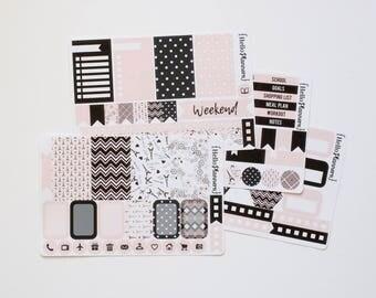 Planner Stickers / Weekly Kit / Springtime Paris Love