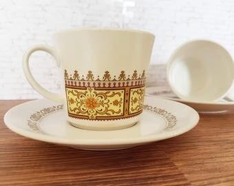 Vintage Noritake / Noritake Japan / 1970's / Retro Tea Set / Vintage Tea Cup / Noritake / Vintage Dinnerware / Cup & Saucer / Retro Noritake