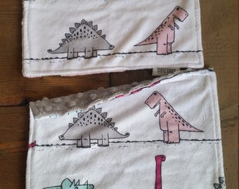 Dino Lovies. Flash Sale. Baby Blanket. Lovey. Minky Lovies. Security Blanket. Snuggle Blanket. Dinosaur Blanket. SALE.