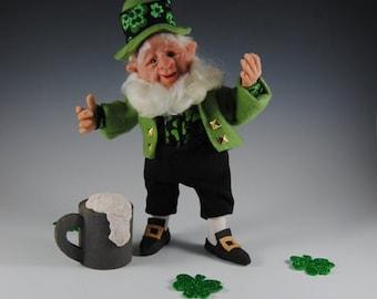 "Leprechaun/Leprechaun Doll/ Irish Doll/ ""Duffy the Leprechaun"""