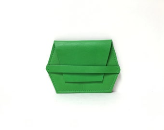 Leather card case // unique gift // leather wallet //  More Colors!