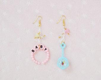 Baby Rattle Earrings