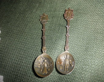 Spoons Miniature Embossed Design