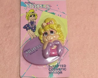 Miss Piggy 1991 Makeup Mirror