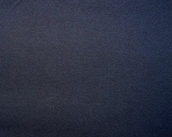 Fabric - cotton jersey fabric -  Navy