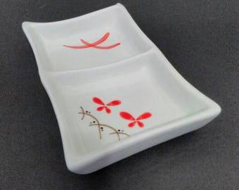Vintage 1940s Retro Chinese Trinket/Ring Dish Mid Century Modern Kitsch