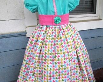 Girls dress, Girls summer dress, girls spring dress, girls clothinig, girls birthday dress,  sizes 2T, 3T, 4T, 5, 6, 7, 8, 10, 12