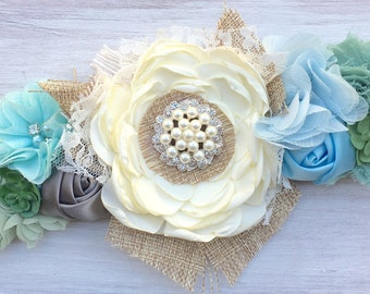 Wedding dog collar, dog wedding collar, dog wedding attire, succulent wedding theme, rustic wedding theme, rustic dog collar, dressy collar