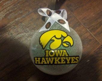 Iowa Hawkeyes Ornament