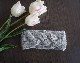 Knitting pattern// Knit cable headband