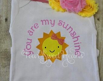 READY TO SHIP! 18 Month Sunshine Birthday Shirt, You Are My Sunshine Shirt, Sunshine Birthday Shirt, Sun Shirt, Sun Birthday Shirt, Sunshine