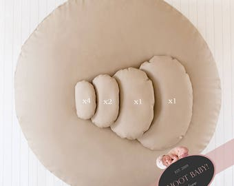 UK Store - Newborn Posing Pillows (8 Pack) Positioners Photography Props Genuine SHOOT BABY! Brand