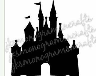 Castle SVG cut file