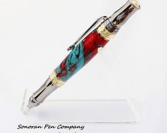 Nouveau Sceptre Navajo Twist Ballpoint Pen