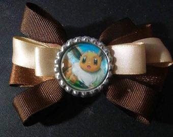 Eevee, Pokémon Bottle Cap Hair Bow