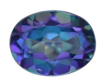 Mystic Verve Zing Topaz Oval Cut Loose Gemstone 1A Quality 9x7mm TGW 2.05 cts.