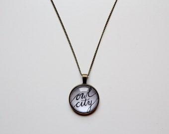 Owl City Pendant Necklace