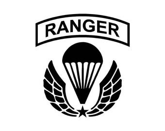 army ranger etsy United States Army Rangers Ranger U.S. Army