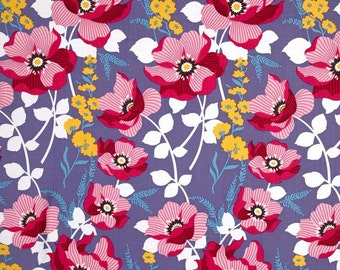 Monarch in Fuchsia, Atrium Collection by Joel Dewberry for Free Spirit Fabrics 4232