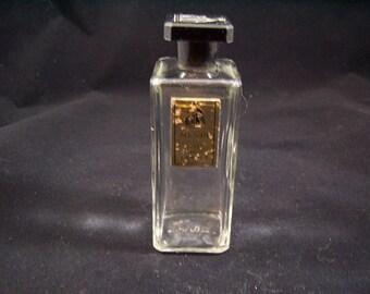 My Sin Eau de Lanvin empty perfume fragrance bottle