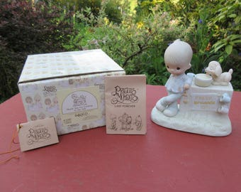 "Vintage Enesco Precious Moments ""Thank You For Coming To My Ade"" #E-5202 in Box 1980"