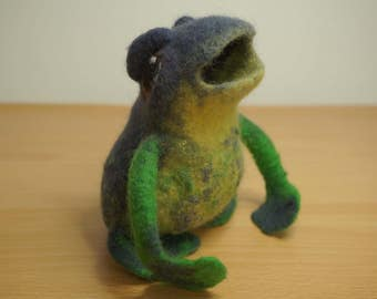 felt frog