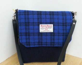 Harris Tweed small Messenger Bag