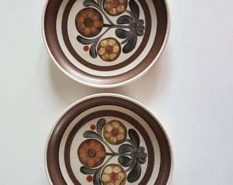 Denby Stoneware Dinner Plates.