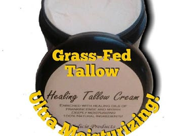 Healing TALLOW Cream * Perfect for Eczema, Psoriasis, topical steroid withdrawal, Etc.  #TL779