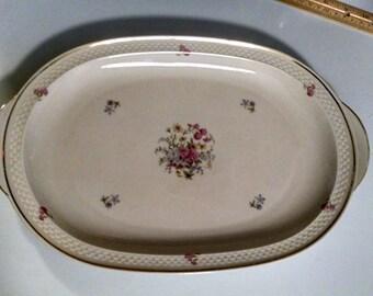 Vintage, Porcelain Platter,  Thomas Ivory,  Made in Germany, Platter