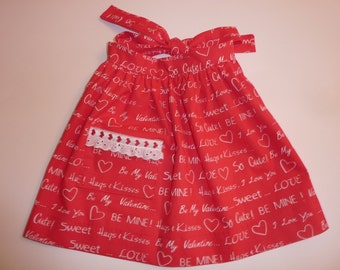 Valentine Child's Apron