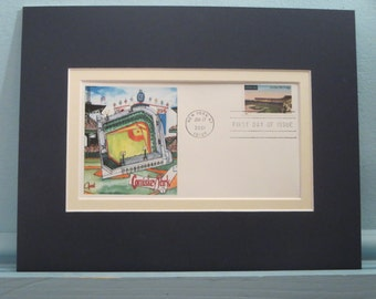 Comiskey Park, the home of the Chicago White Sox & First Day Cover of its stamp