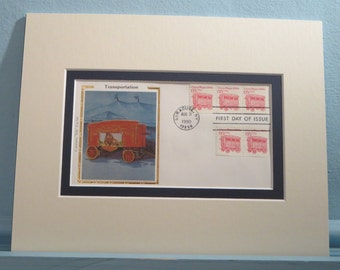 The Circus Comes to Town and the First Day Cover of the Circus Wagon