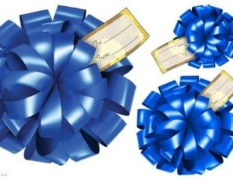 3D Self-Adhesive Gift Bows- Winter Collection