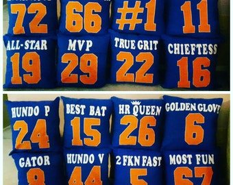 Team Jersey Pillows