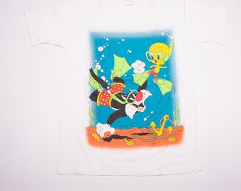 Vintage Looney Tunes Tweety and Sylvester 90s Tshirt