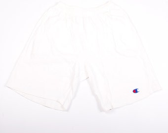 Vintage Champion White Logo 90s Shorts