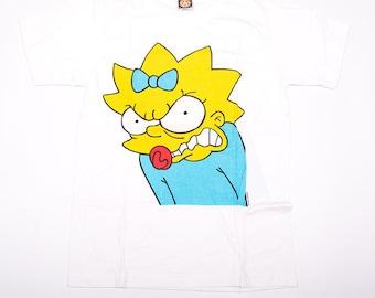 Vintage The Simpsons 90s Maggie Bootleg Cartoon Tshirt