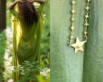 Star in the green wood