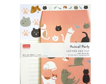 Letter Writing Kit - Cats!