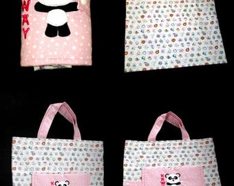 (customizable to order) foldable tote bag