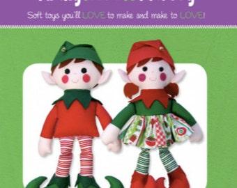 Edward & Edwina Christmas Elf Pattern, FF4026, From Funky Friends Factory