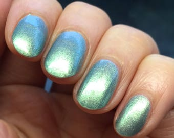 Surreal Teal by CANVAS lacquer - a metallic duochrome